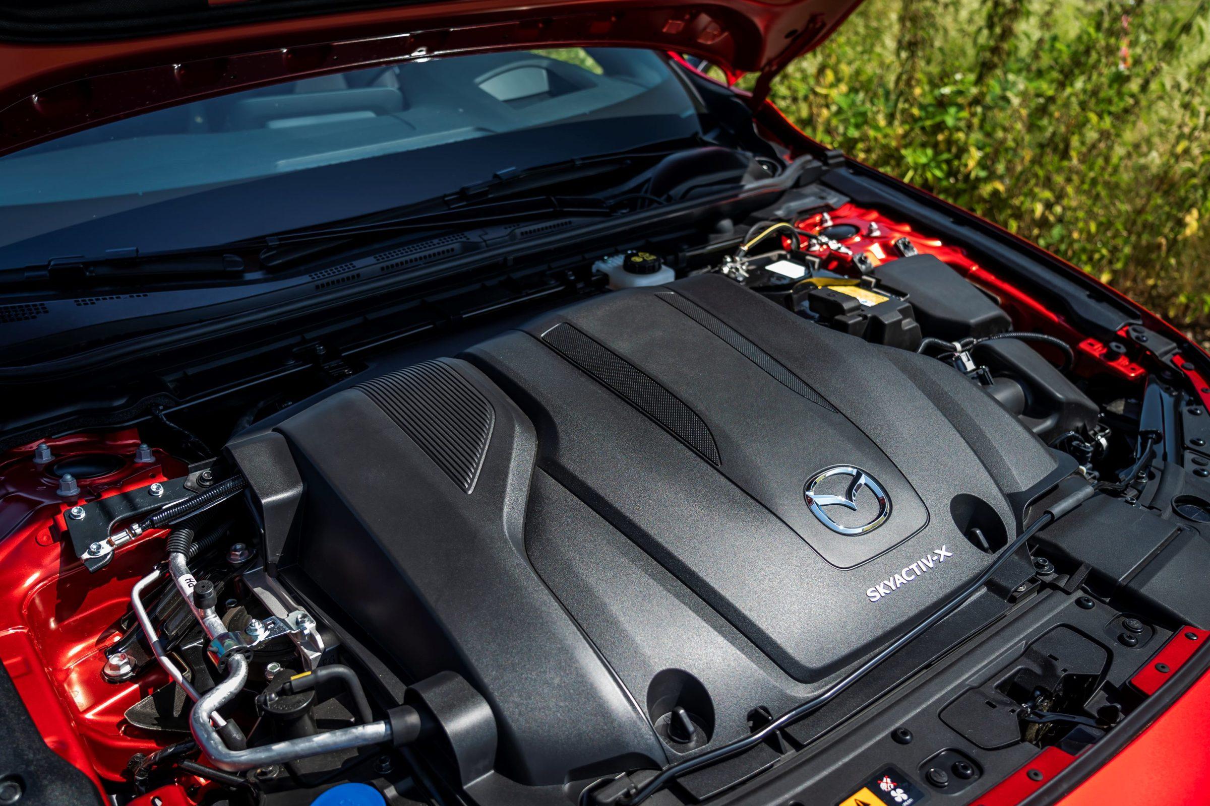 Mazda3 Skyactiv X Detail 2 - Mazda 3 Skyactive-G122