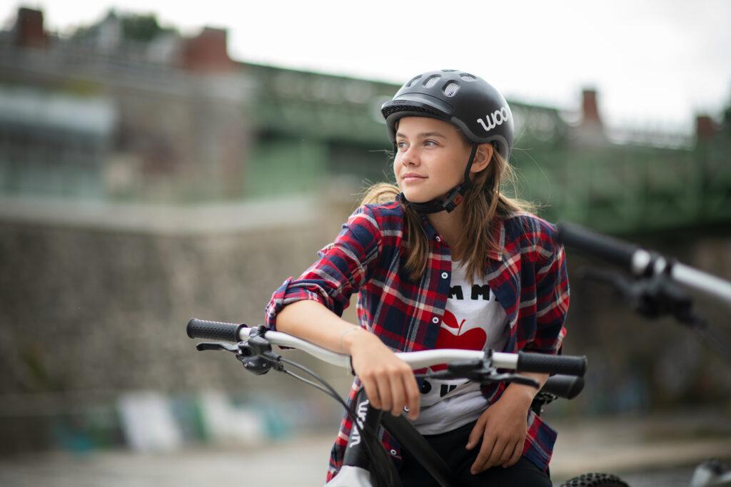 woom so kann Fahrrad auch sein wels im bild woom steht