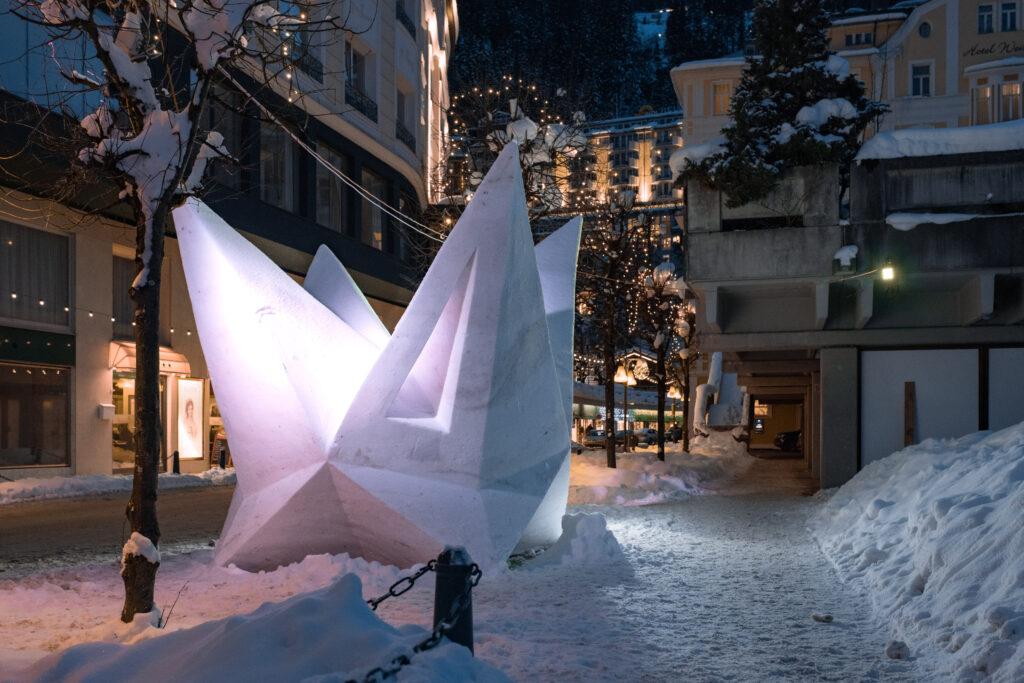 Art on Snow 1024x683 - Frostige Kunstwerke aus ganz Europa